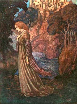 Annabel Lee, by Edmund Dulac