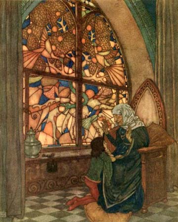 His Grandmother Had Told Him, by Edmund Dulac