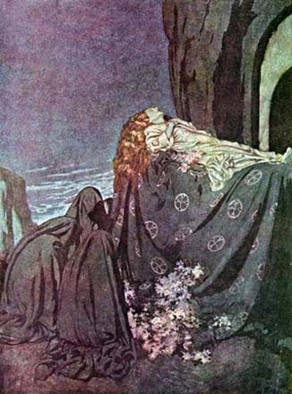 Lenore, by Edmund Dulac