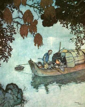 The Fisherman, by Edmund Dulac