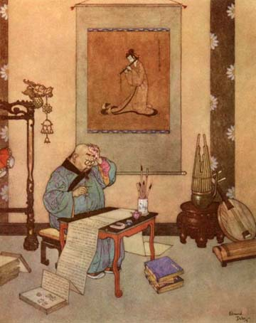 The Music Master, by Edmund Dulac