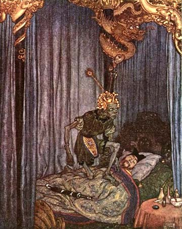 Even Death Listened, by Edmund Dulac