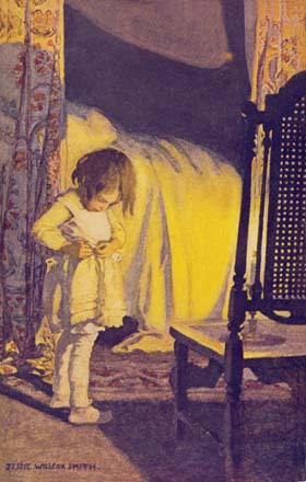 Bed in Summer, by Jessie Willcox Smith