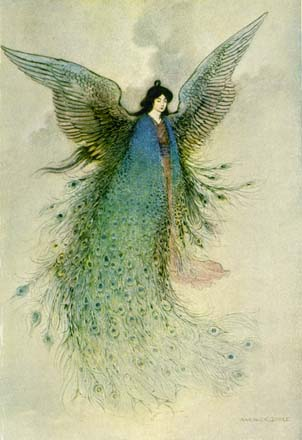The Moon Maiden, by Warwick Goble
